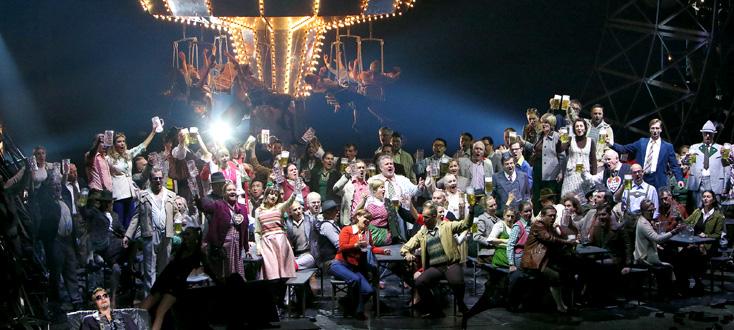 Mefistofele d'Arrigo Boito à l'Opernfestspiele de Munich, 24 juillet 2016