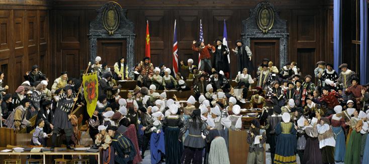 Farandole Renaissance au procès de Nuremberg : Barrie Koskie à Bayreuth !