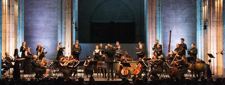 Valentin Tournet et La Chapelle Harmonique au Festival de Saint-Denis