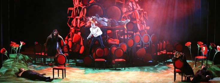 à Metz, Paul-Émile Fourny met en scène A midsummer night's dream de Britten