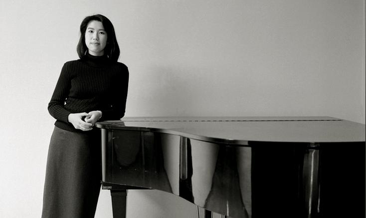 la compositrice japonaise Misato Mochizuki photographiée par Nathalie Desserme