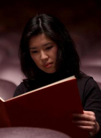la compositrice japonaise Misato Mochizuki photographiée par Yoko Miwa