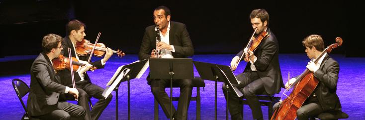 Le Quatuor Modigliani joue Beethoven, Mendelssohn et Mozart
