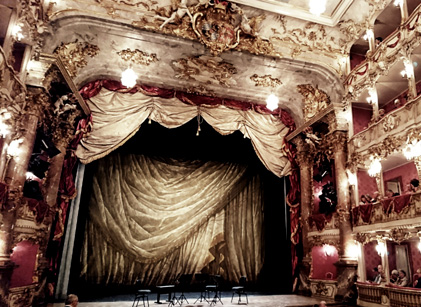 au Cuvilliés-Theater, soirée de quatuors à cordes © Bertrand Bolognesi, 2017
