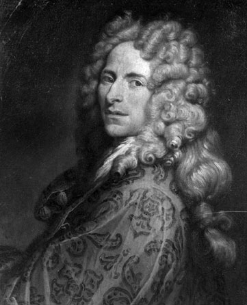 le fameux architecte bolognais Francesco Galli da Bibiena (1659-1739)
