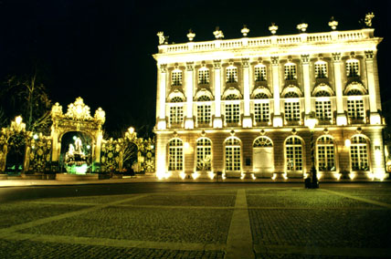l'Opéra de nancy et la Place Stanislas by night !