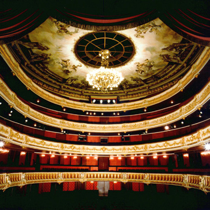 intérieur du Théâtre municipal de Strasbourg, Opéra national du Rhin