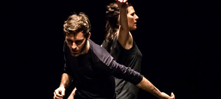 Alban Richard met en scène cinq danseurs accompagnés d'Alla francesca