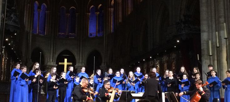 à Notre-Dame de Paris : La Légende de Sainte Cécile Op.22 d'Ernest Chausson