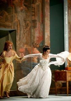 l'Opéra de Lausanne joue Le nozze di Figaro de Mozart