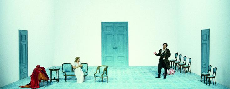 Wilfried Hösl photographie Le nozze di Figaro au Münchner Opernfestspiele