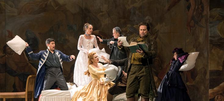reprise au Capitole de Toulouse des Noces de Figaro de Marelli