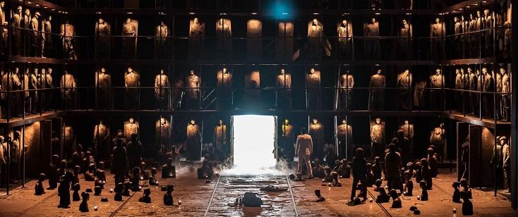 Œdipe, opéra d'Enescu joué à Amsterdam dans une mise en scène d'Alex Ollé