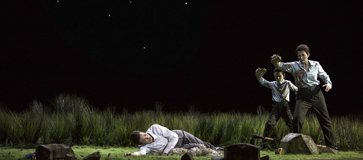 """Romeo Castellucci signe """"Il primo omicidio"""" de Scarlatti au Palais Garnier"""
