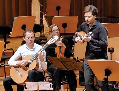 L'Orchestre national Bordeaux Aquitaine, Thibault Cauvin et Julien Martineau