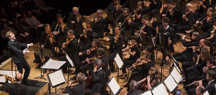 Daniel Harding fête les cinquante ans de l'Orchestre de Paris, 2 novembre 2017