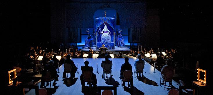 L'opera seria, opéra de Florian Gassmann, à La Monnaie de Bruxelles
