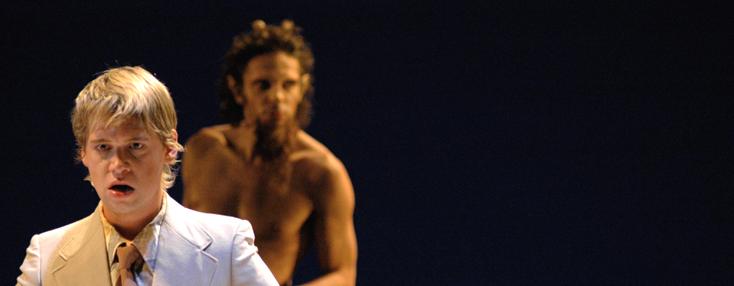L'Orfeo vu par Giorgio Barberio Corsetti pour l'Opéra national du Rhin, à Colmar