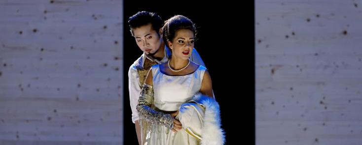 le contre-ténor David DQ Lee est Orlando (Händel) à Versailles