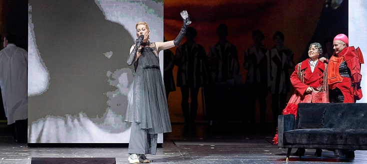 À Vienne, création mondiale d'Orlando, opéra d'Olga Neuwirth
