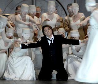 l'Orphée de Roberto Alagna à l'Opéra national de Montpellier