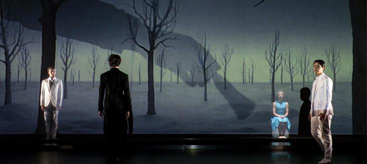 Orphée et Eurydice de Gluck à l'Opéra de St-Étienne (photo Cyrille Cauvet)