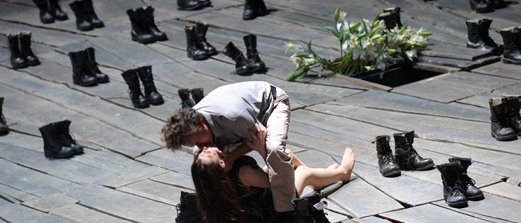 Roberto Saccà et Olesya Golovneva sont Othello et Desdémone à Francfort
