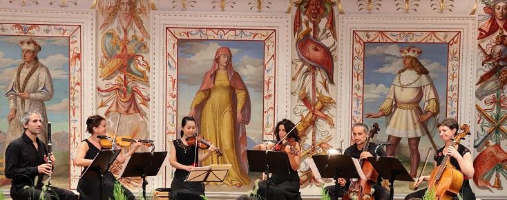 Accademia Ottoboni joue Luigi Boccherini dans la Spanischer Saal (Schloß Ambras)