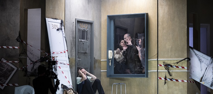 Il palazzo incantato, opéra de Luigi Rossi donné à Dijon en décembre 2020