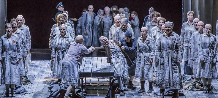 La passagère, bouleversant opéra de Mieczysław Weinberg à la Semperoper Dresden