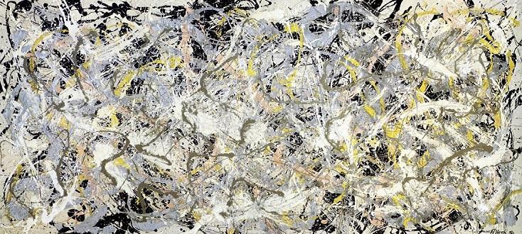 En 1950, Pollock peint No.27 qui inspire le compositeur Kwarciński en 2006