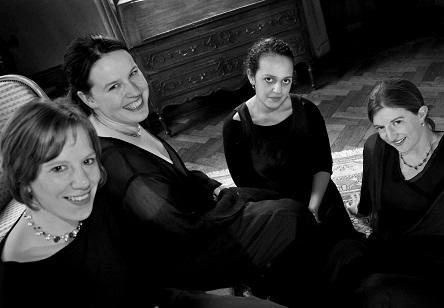 les dames du Quatuor Thaïs jouent Grétry et Dvořák au Flagey (Bruxelles)