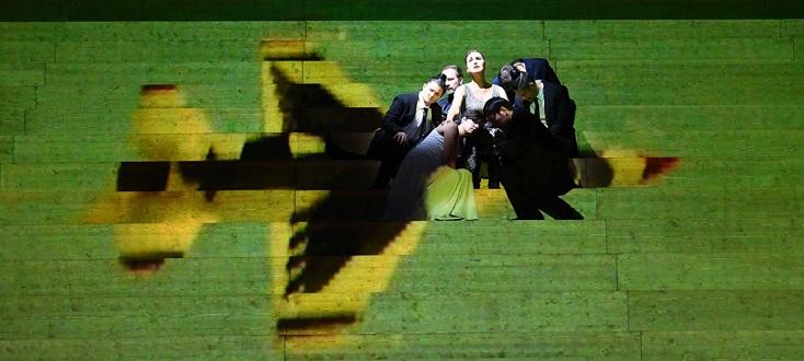"""Radamisto"" d'Händel mis ens cène par Tilmann Köhler à l'Opéra de Francfort"