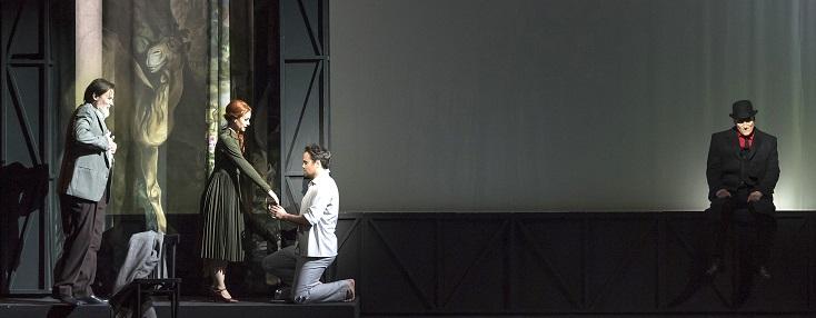 Jean de Pange met en scène The Rake's Progress à l'Opéra de Nice