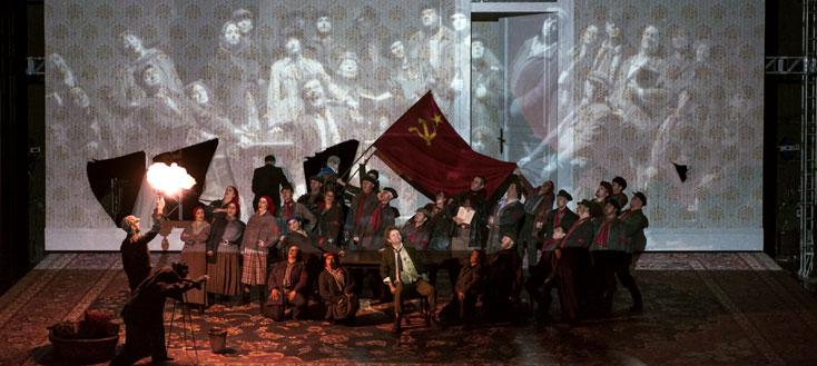 Cœur de chien (Собачье сердце), opéra de Raskatov d'après Boulgakov, à Lyon