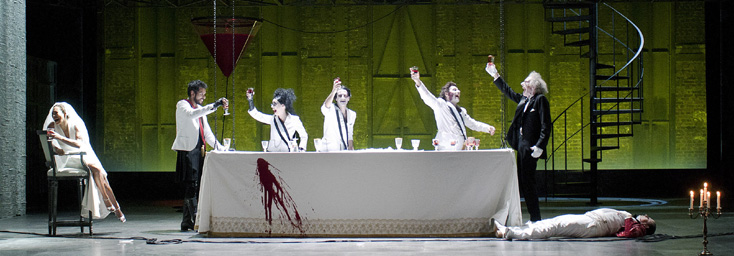création de Re Orso, opéra de Marco Stroppa, à l'Opéra Comique (Paris)