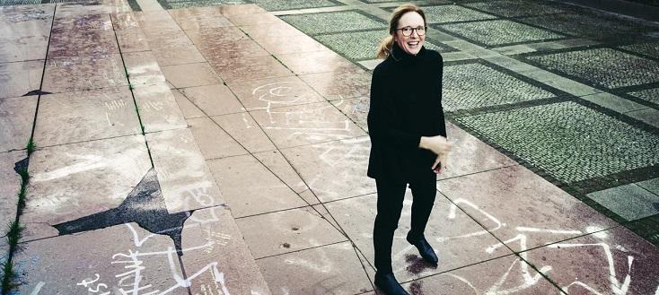 La compositrice britannique Rebecca Saunders, jouée au CRR de Paris