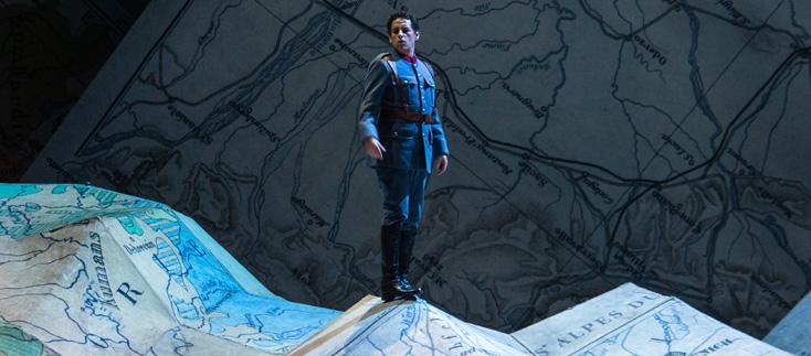 La fille du régiment (Donizetti), production Pelly, Londres 2007, à Bastille