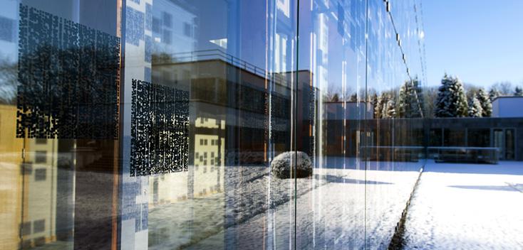 reflets dans l'Aile de Launoit, Chapelle musicale Reine Élisabeth © Cooreman