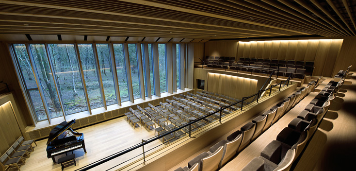 nouvelle salle de concert de la Chapelle musicale Reine Élisabeth