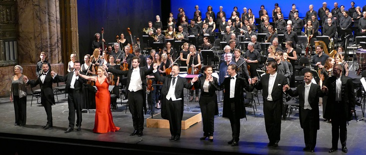 """à Marseille, version de concert de """"La reine de Saba"""" de Charles Gounod"""