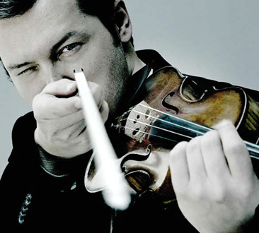 avec Itamar Golan, le violiniste russe Vadim Repin en récital à Paris