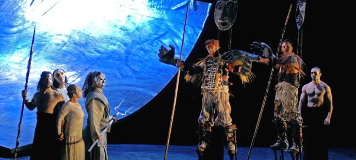 les géants wagnériens à Strasbourg où David McVicar met en scène Rheingold