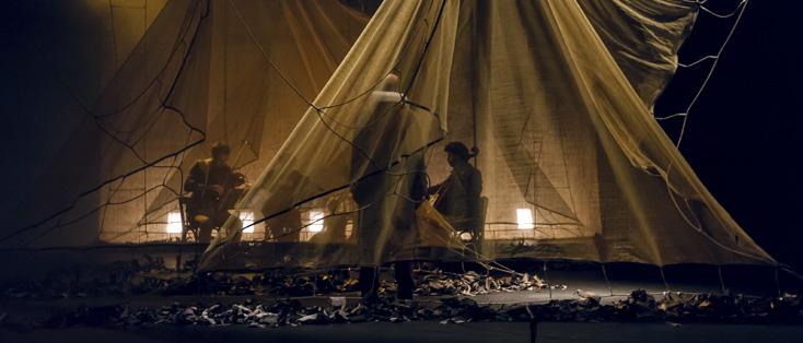 Le roi du bois, spectacle de Sandrine Anglade