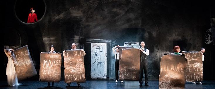 "à Lyon, ""Romeo und Julia"", opéra de Boris Blacher (1943) d'après Shakespeare"