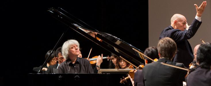 Dezső Ránki joue deux concerti de Mozart à La Roque d'Anthéron (édition 2016)