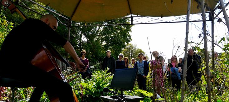 Drame au jardin : un parcours musical déambulatoire en l'Abbaye de Royaumont