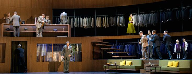 Salome de Strauss, mis en scène par Claus Guth à la Deutsche Oper, Berlin