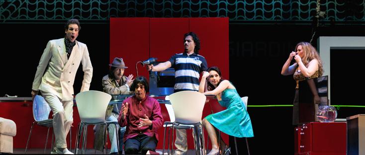 Damiano Michieletto met en scène La scala di seta (Rossini) à Liège