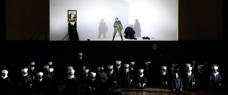 Semiramide fort peu concluante de David Alden à l'Opéra de Munich
